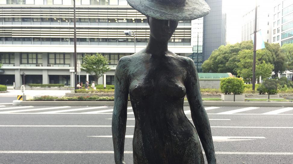 佐藤忠良『帽子・裸婦』